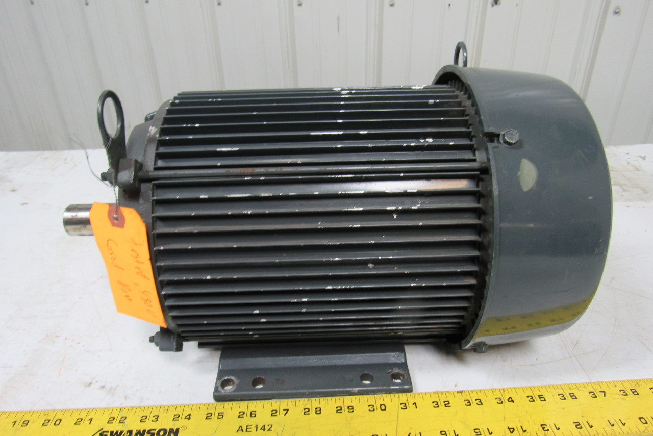 Us Motors H17434 Electric Motor 5 Hp 1435 1755 Rpm 50 60hz