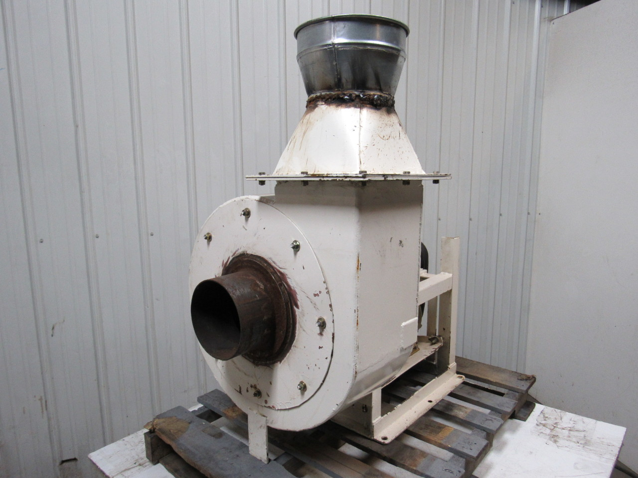 Industrial Dust Blowers : Hp ph quot dia solid material handling blower dust