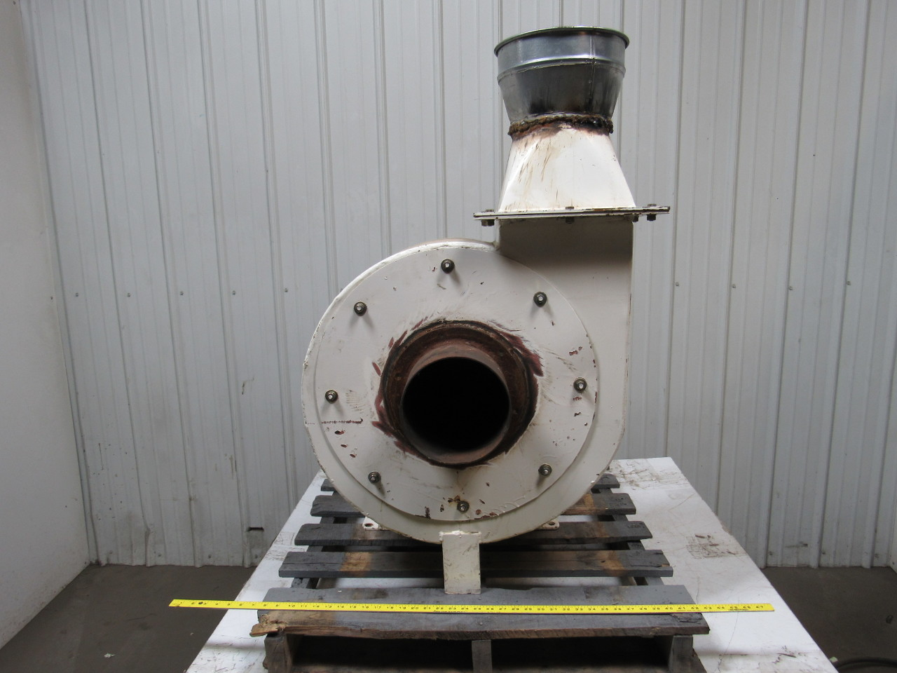 Dust Collector Blower : Hp ph quot dia solid material handling blower dust
