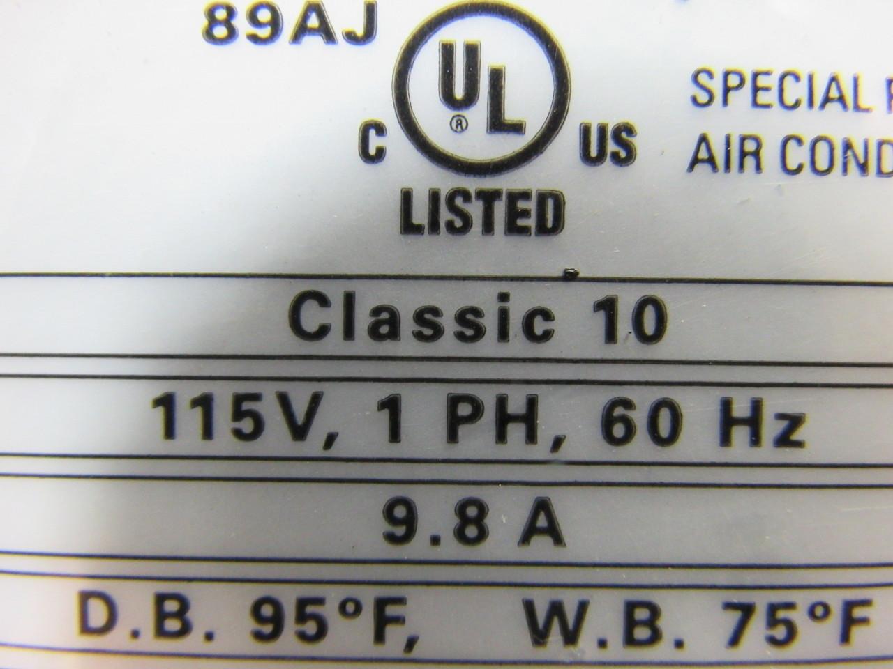 Movincool Classic 10 Portable Air Conditioner 115v 1ph 10 000 Btu/hr  #445187
