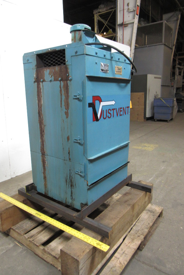 Dustvent 10mc 1 5 Hp Dust Collector 8 Dia Inlet 208 230