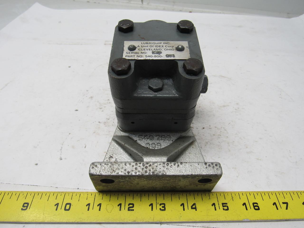 Lubriquip 540-800-091 Meter-Flo Gear Type Pump New P/N 557818