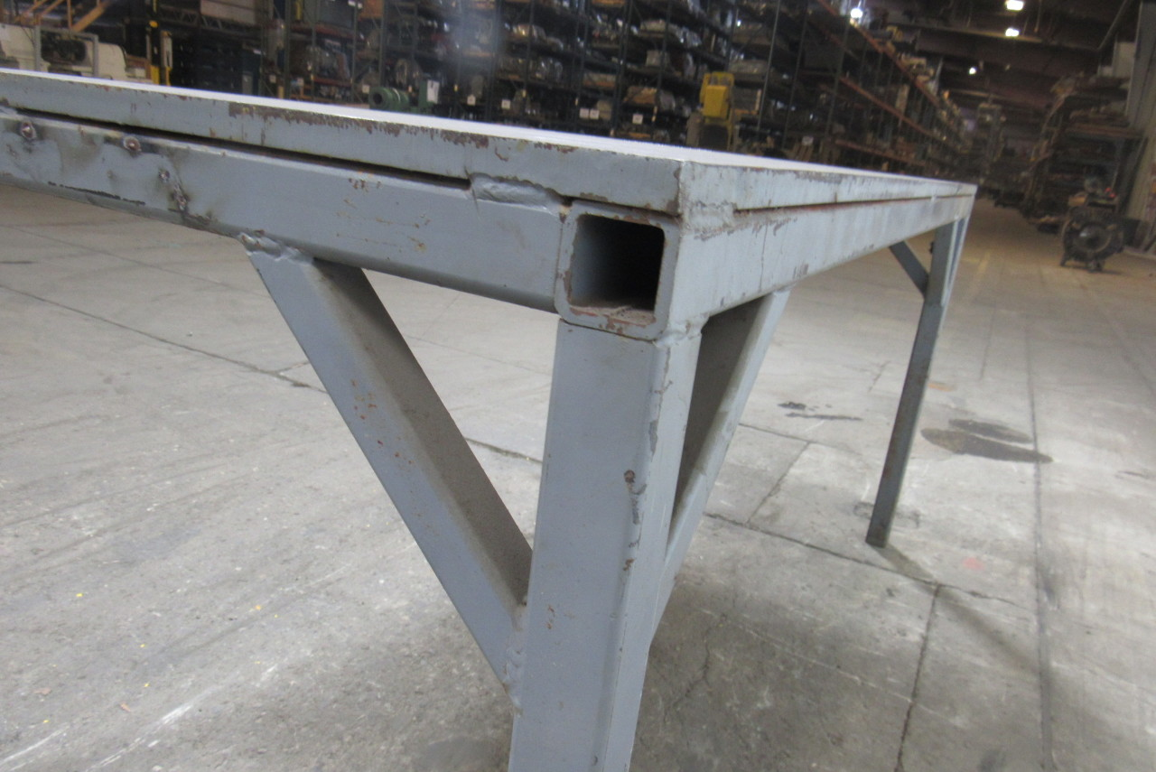 Steel Industrial Weld Layout Assembly Work Table Bench 72
