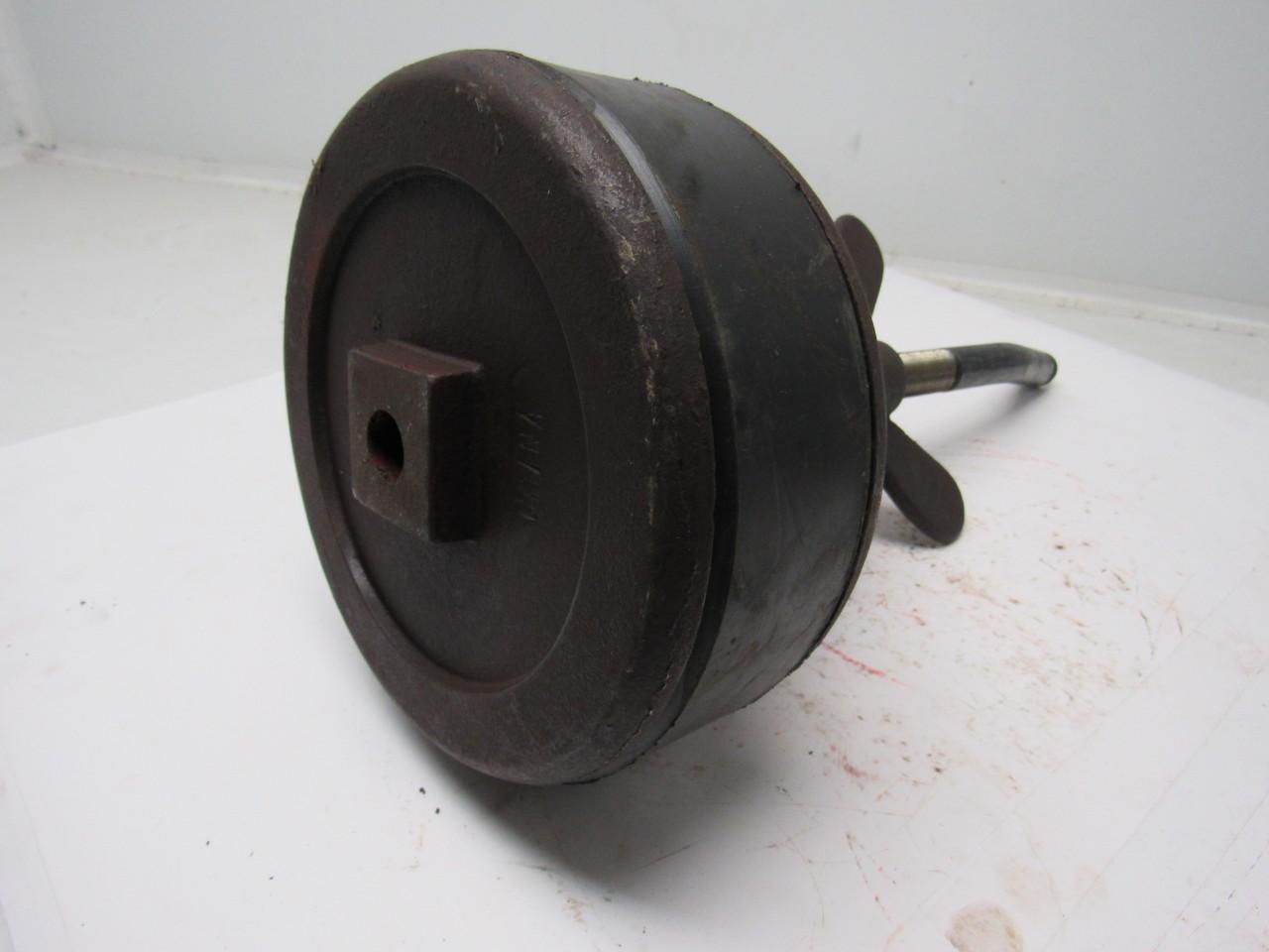 Proflo pf cast iron test plug w wingnut fits quot pipe