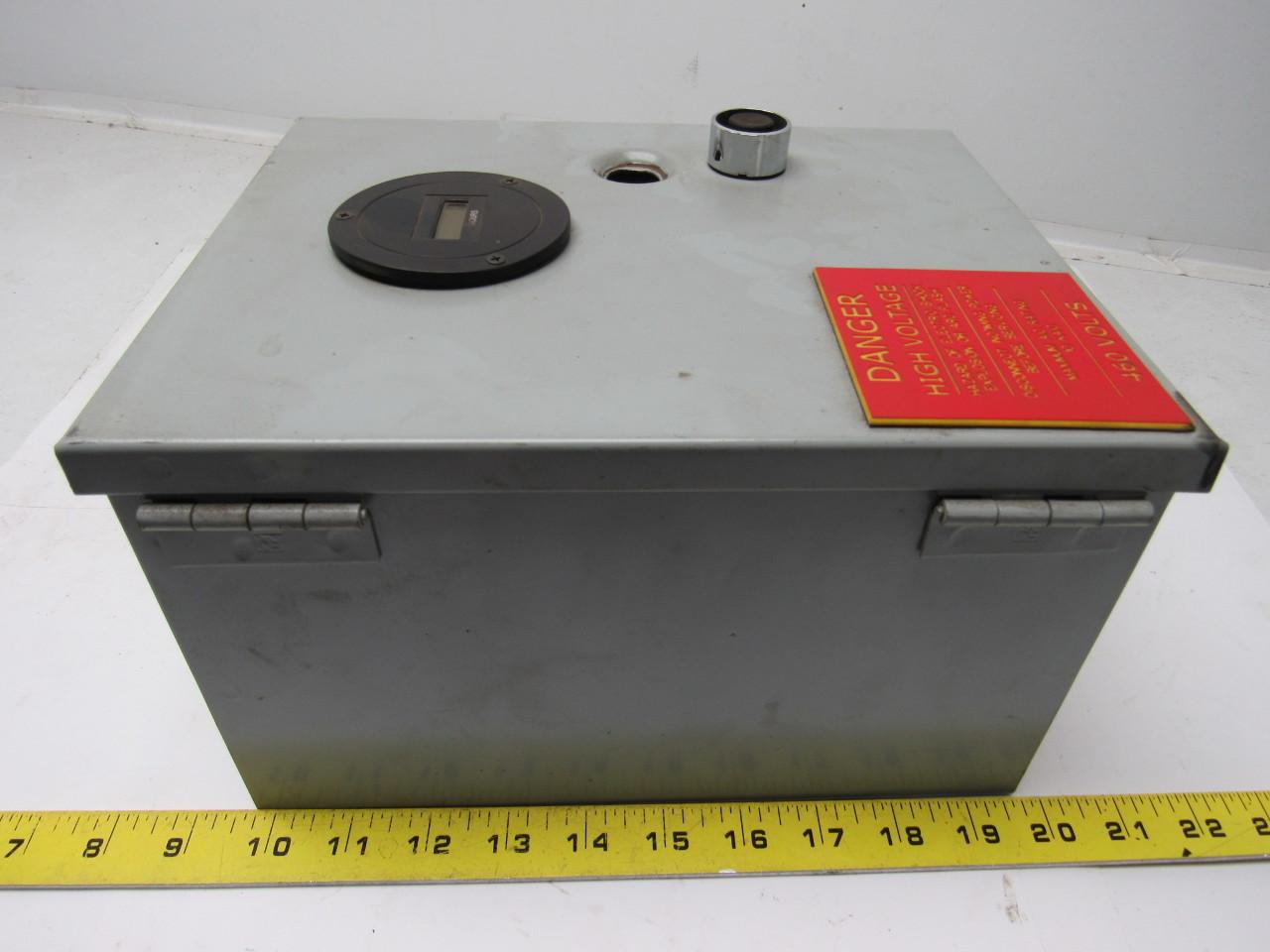 Amp Hour Meter : Olson motor control v ph hz amp max w hour
