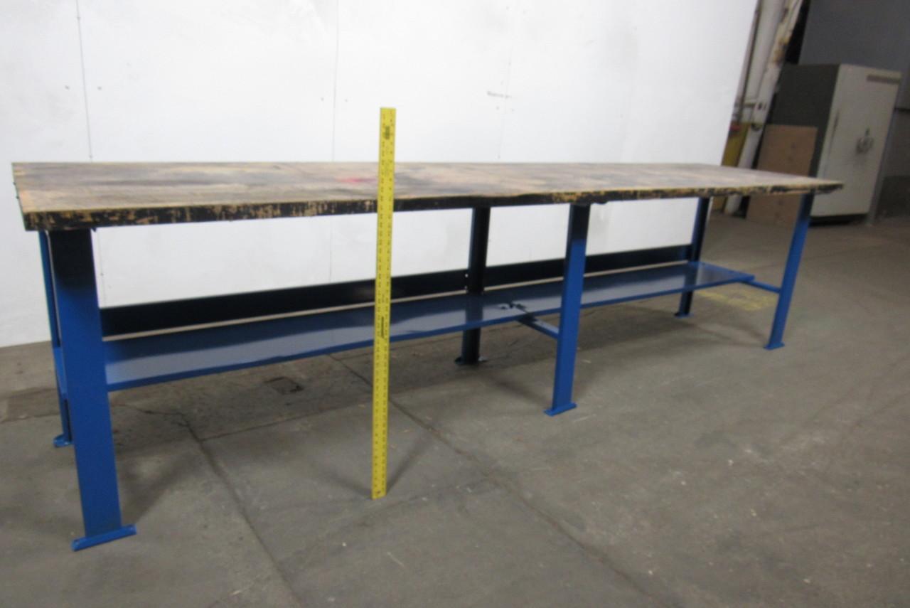 Bally Block 144 X36 Vintage Butcher Work Bench Table Counter