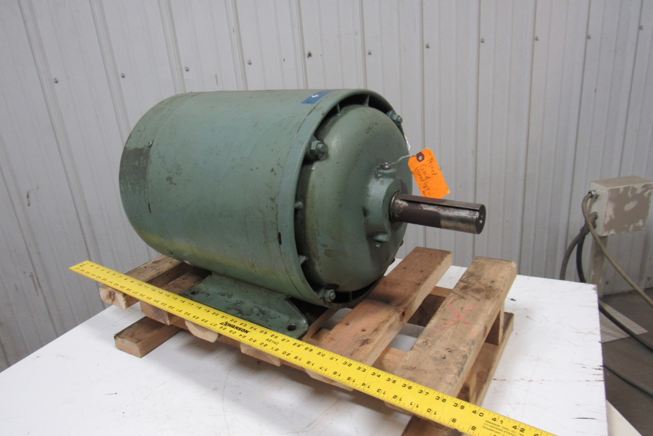 Howell 194a 44605 6 15hp 230 460v 3ph 1175 Electric Motor Tested Ebay