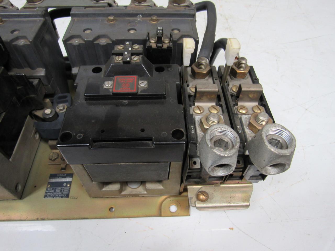 Allen Bradley 705 Eod103 Ser K Size 4 Reversing Motor