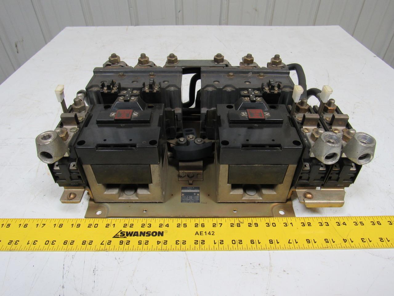 Allen bradley 705 eod103 ser k size 4 reversing motor for Allen bradley motor overload