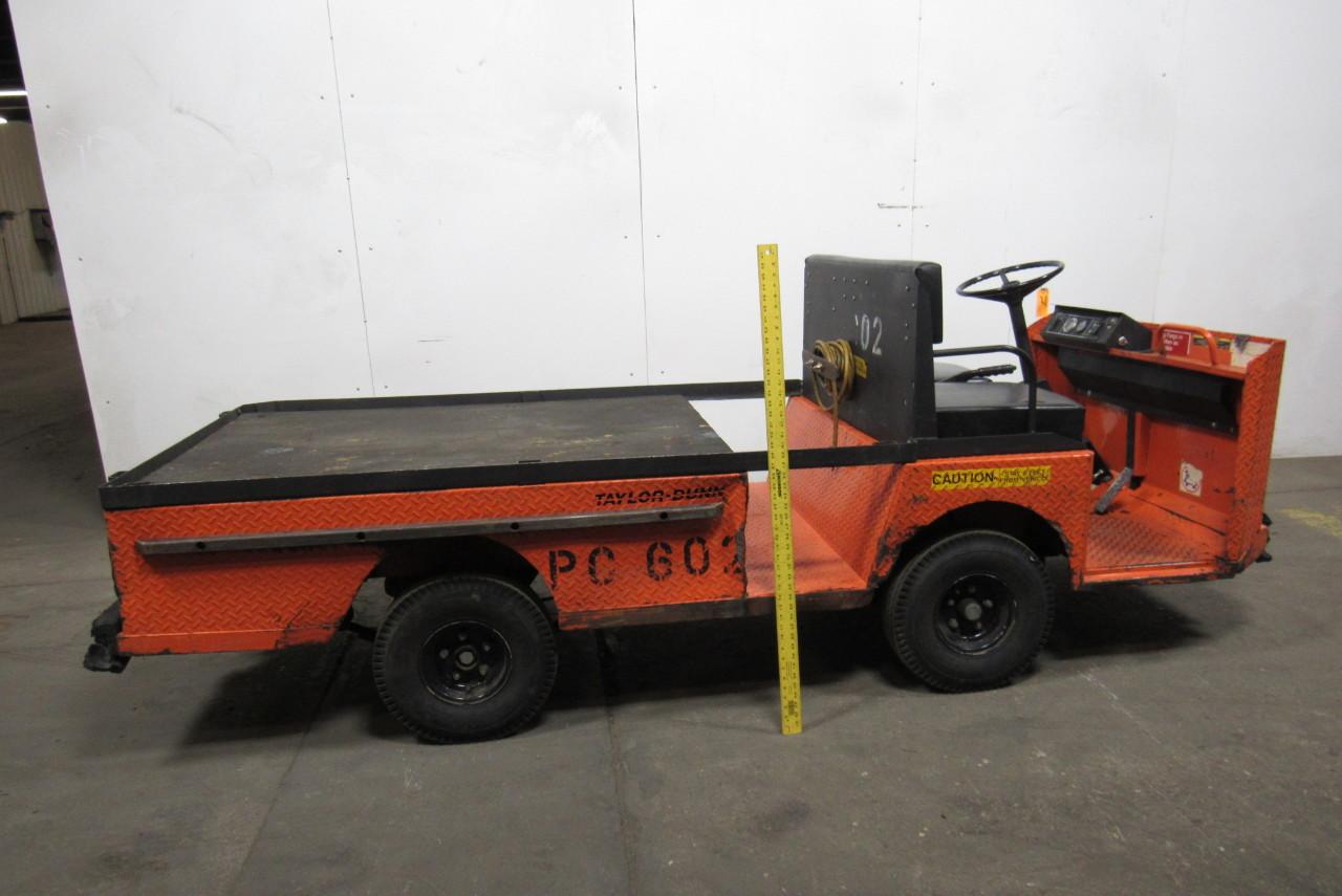 Taylor    Dunn    B210 Burden Carrier Long Bed    Utility       Cart    36V