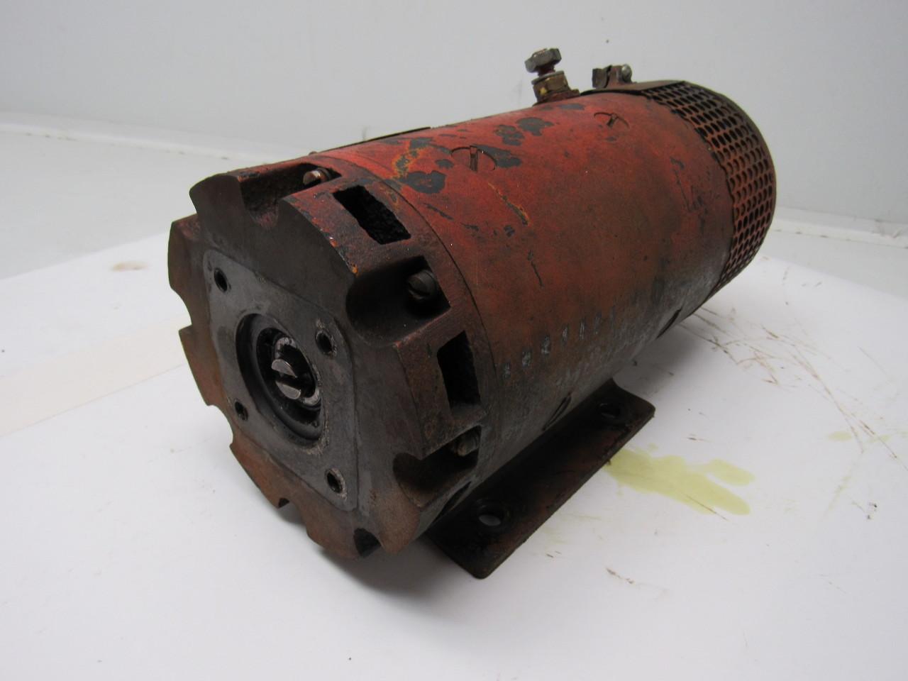 Prestolite Mbd 4304 24vdc Electric Motor From Raymond