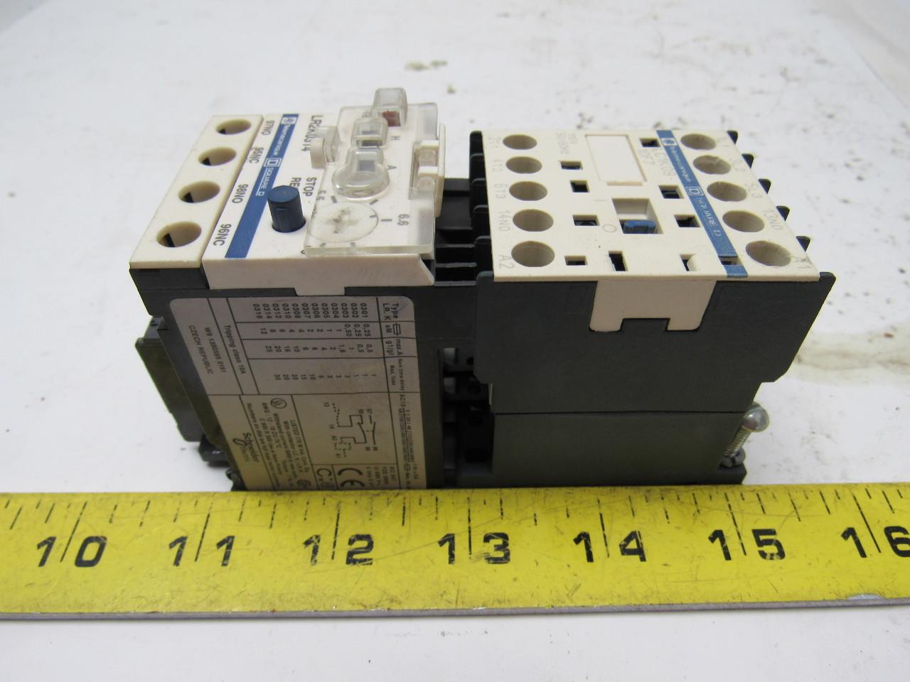 Square D Telemecanique LC1K09 3 Pole 9 Amp Miniature Contactor  #9F972C
