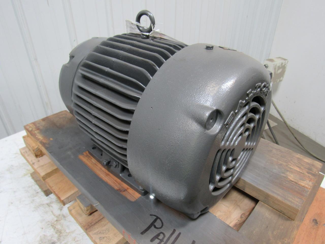 Baldor 07k373w242g1 2 speed electric motor 3 1 5 hp 1725 for Electric motor 1 5 hp