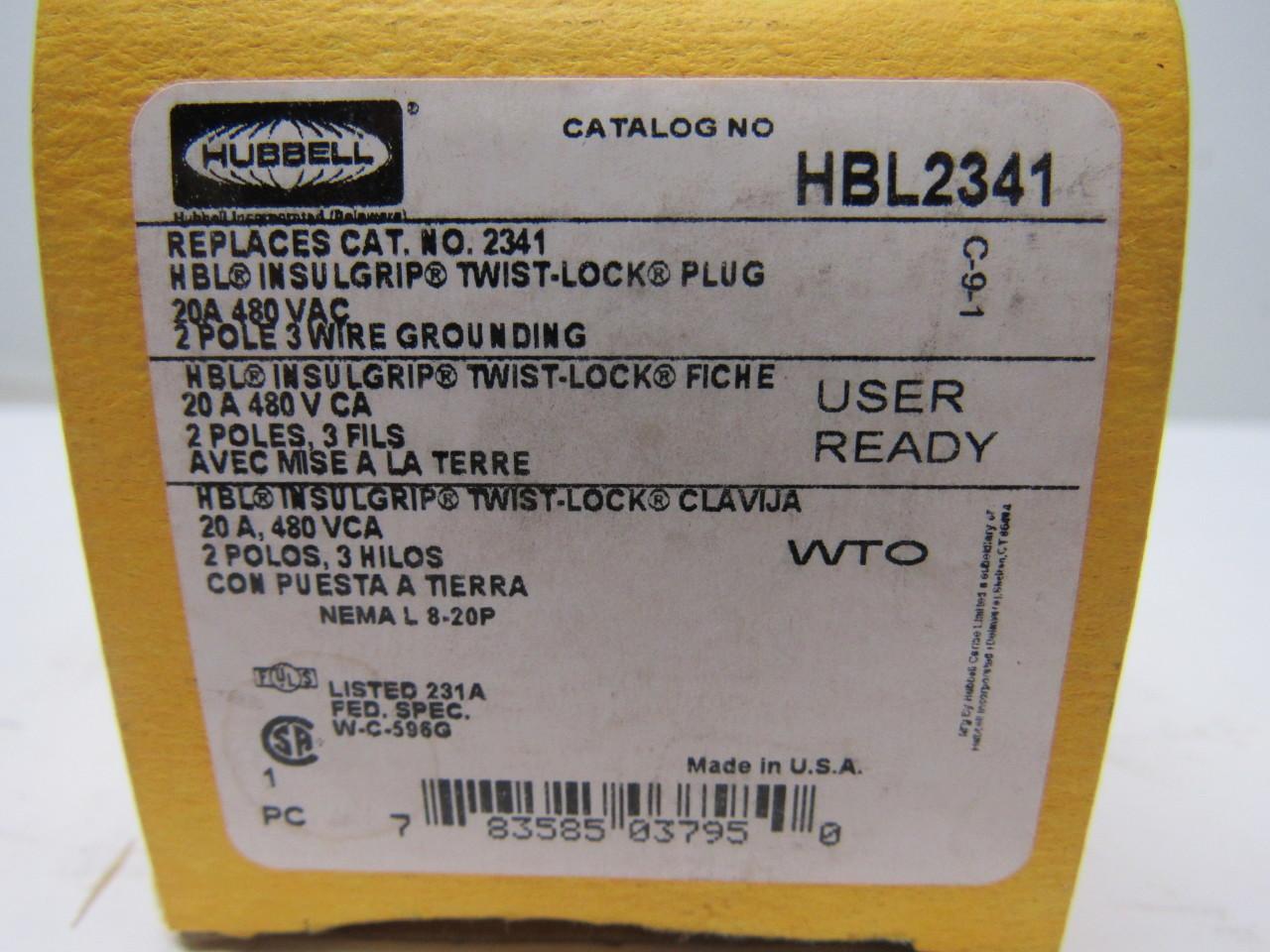 Hubbell Hbl2341 L8