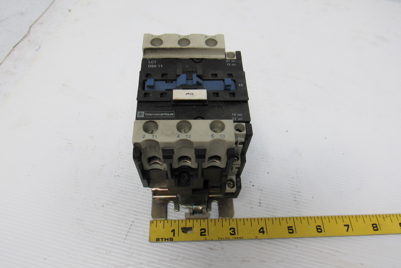 Telemecanique lc1d5011 motor starter contactor ebay Telemecanique motor starter