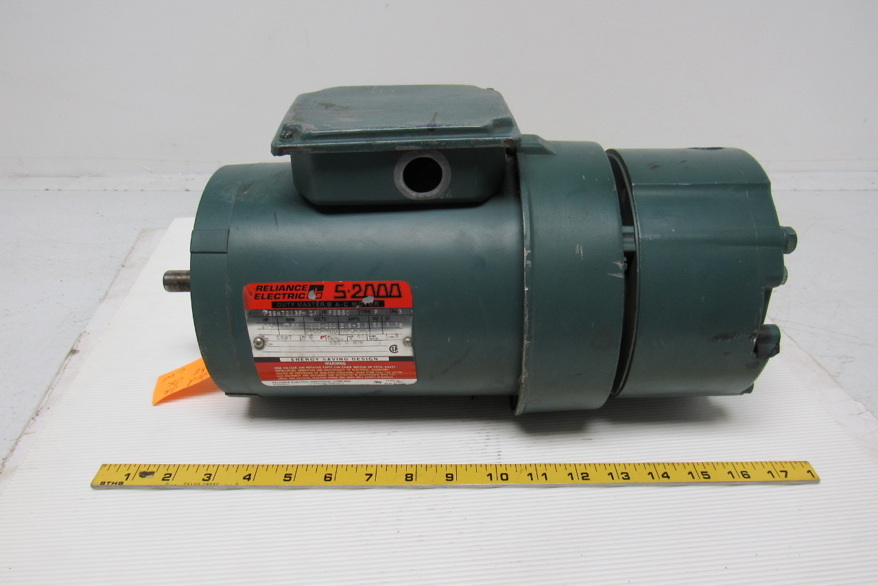 Reliance Electric P56h7213p Zx 3 4hp Electric Motor W