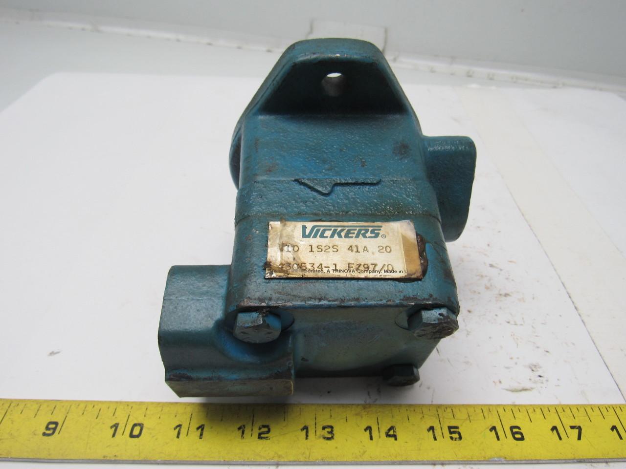 Vickers V10 1S2S 41A 20 Single Vane Hydraulic Pump 1
