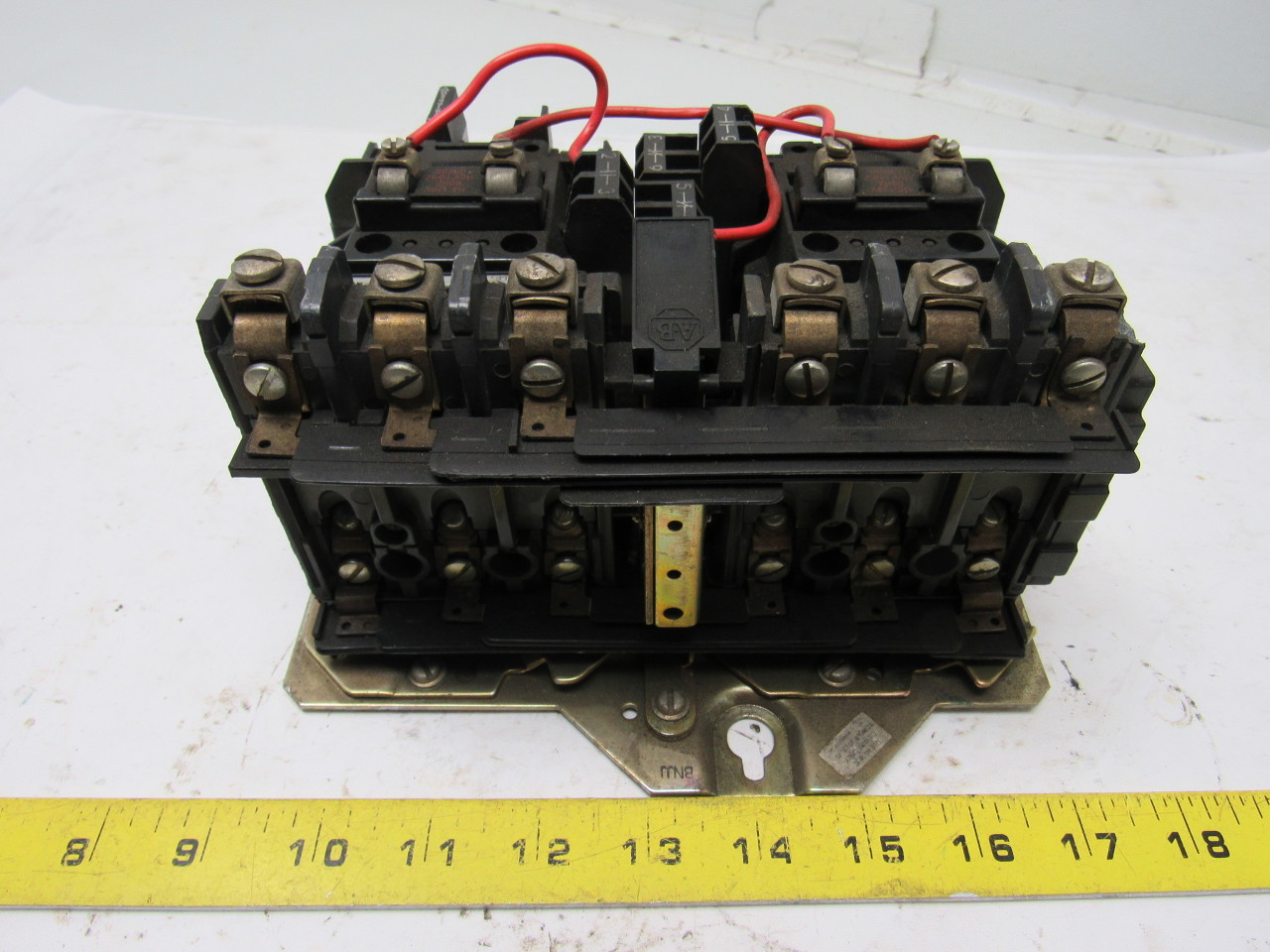 Allen Bradley 505 B0d Reversing Contactor Motor Starter
