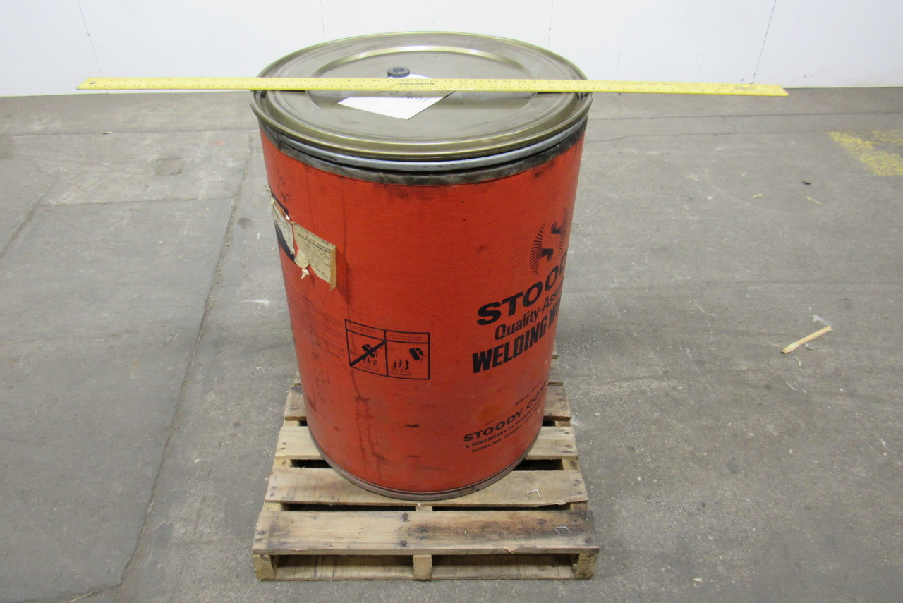 Stoody 102 1 8 hard facing submerged arc welding wire 215 opened drum