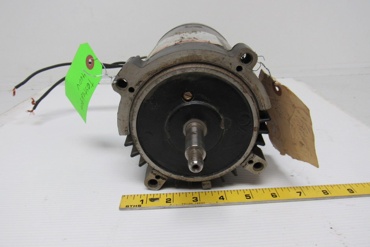 Ao smith t3202 electric pump motor 3ph 2hp 3450rpm 208 230 for Ao smith pump motors