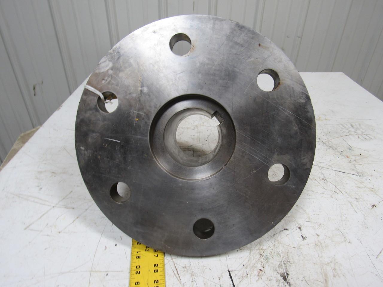 373098 motor coupling hub 14 od 3 1 2 keyed bore flange for Flange mounted motor catalogue