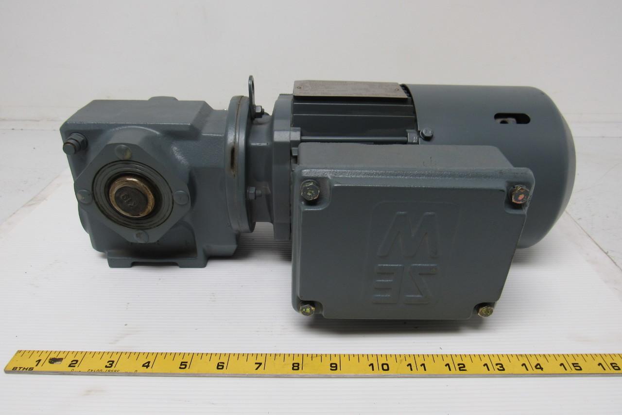 sew usocome sa37 tdt71d4 bmg hr helical worm gear motor w