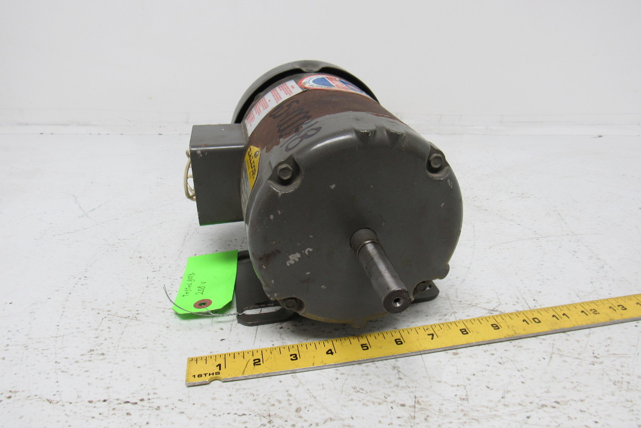 Baldor m3539 electric motor 1 2 hp 3ph 1140rpm ebay for 1 2 hp ac motor