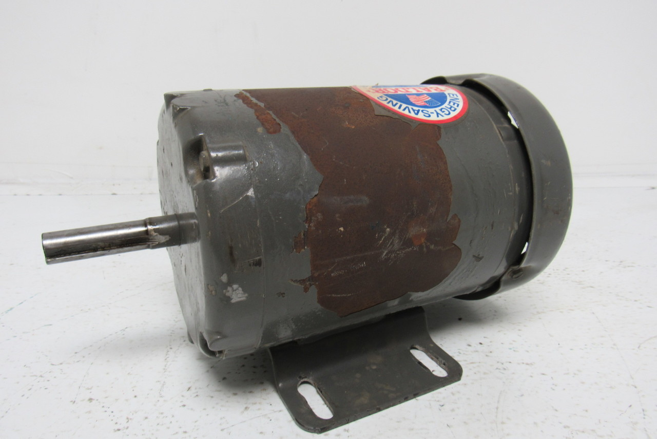 Baldor m3539 electric motor 1 2 hp 3ph 1140rpm ebay for Dc motor 1 3 hp