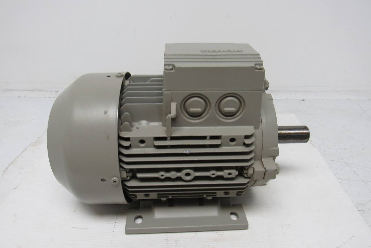Siemens 1la7106 6aa10 electric motor 3ph 1000rpm 230 400 1 kw electric motor