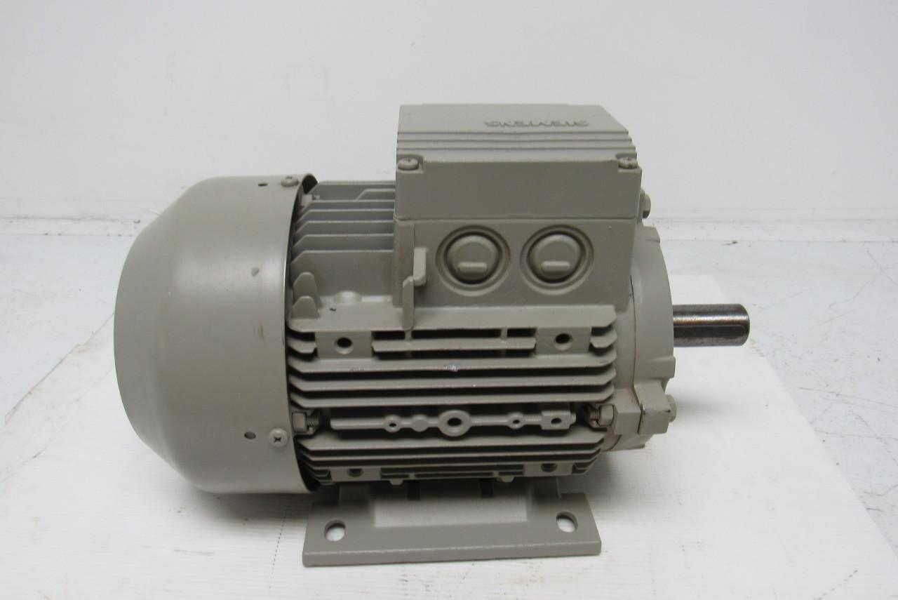 Siemens 1la7106 6aa10 Electric Motor 3ph 1000rpm 230 400: 1 kw electric motor