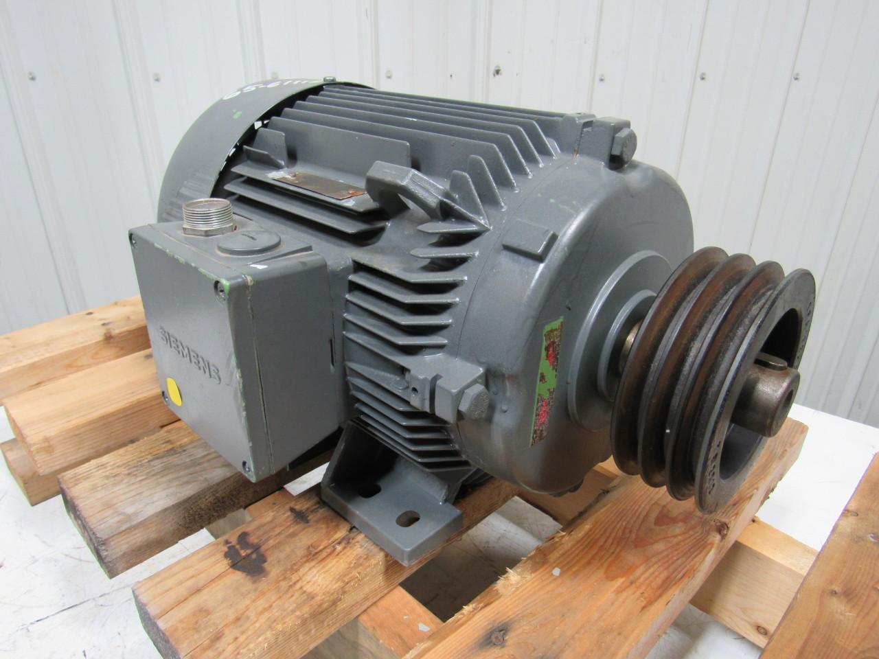 Siemens 1la5133 6aa Electric Motor 3ph 4 6kw W 3