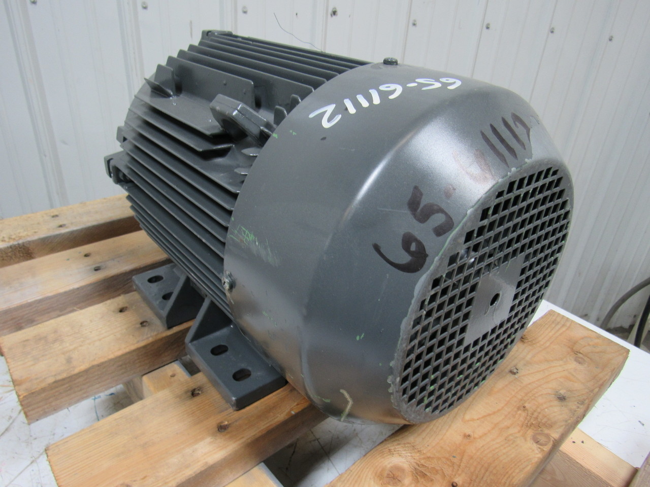 Siemens 1la5133 6aa Electric Motor 3ph 4 6kw 440v