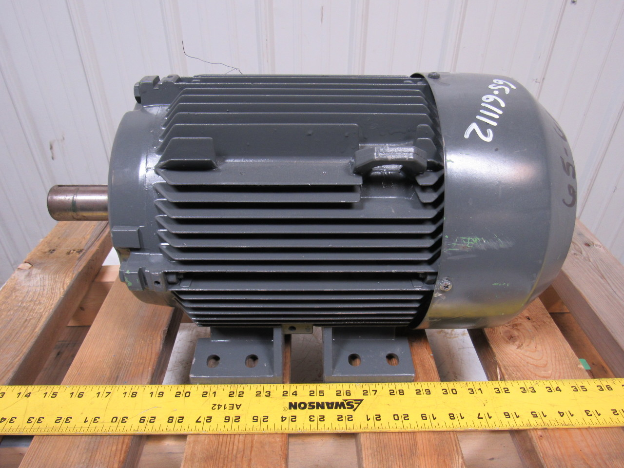 Siemens 1la5133 6aa Electric Motor 3ph 4 6kw 440v