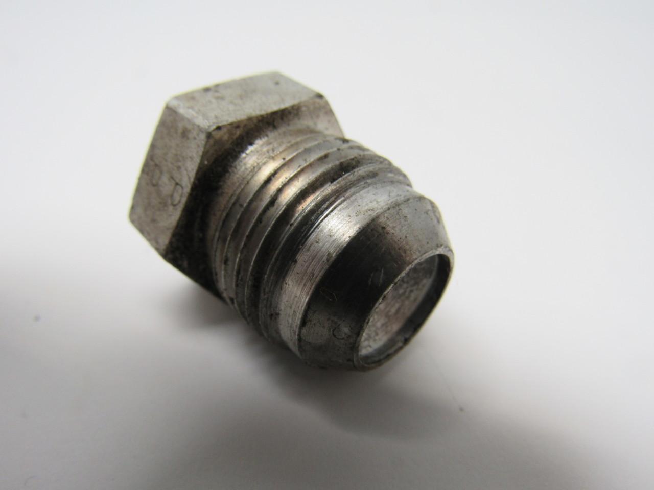 Steel hydraulic hex plug fitting ° flare for