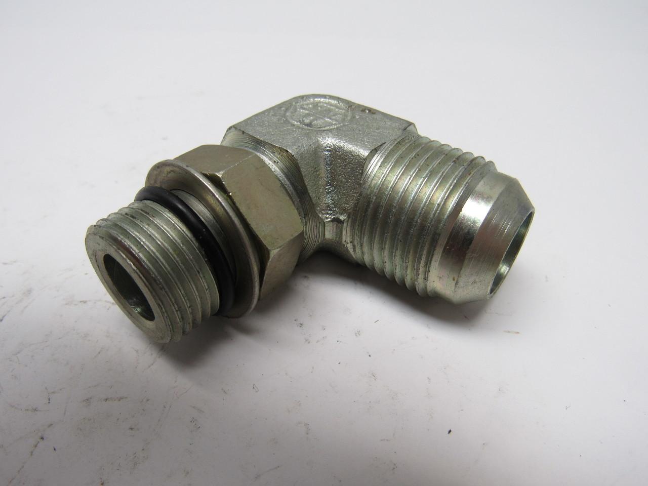 Hydraulic fitting ° elbow jic thread