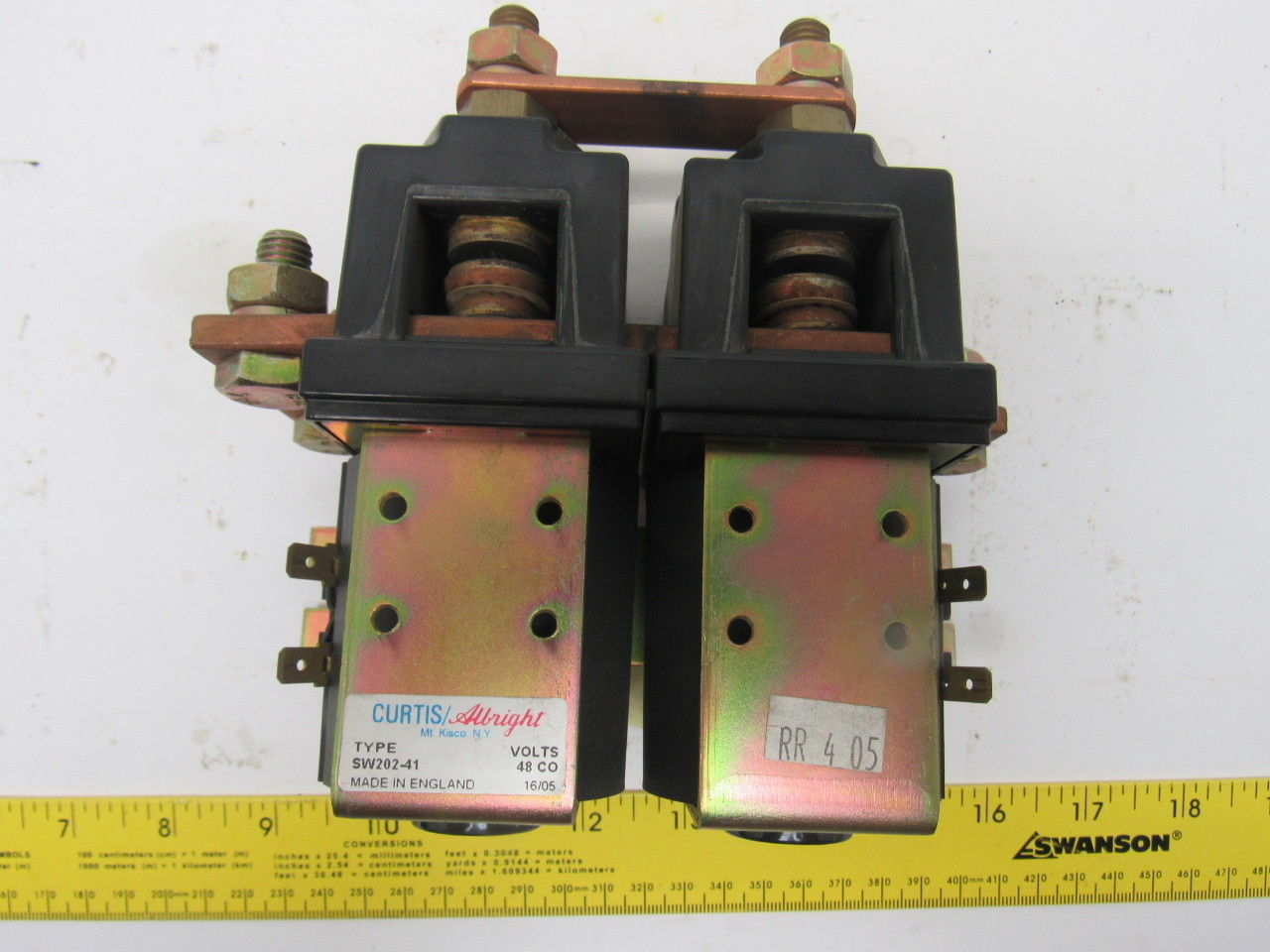 Curtis Albright Sw202 41 Electric Vehicle Dc Contactor
