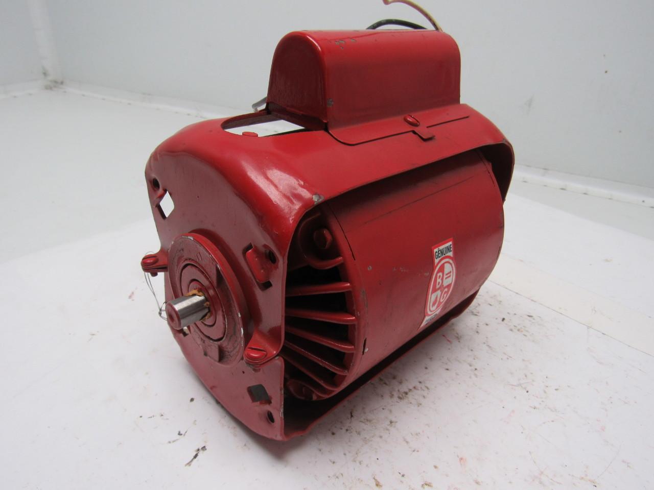 Bell and gossett mrp58jv 724 circulating pump motor 1 12 for Bell gossett motors