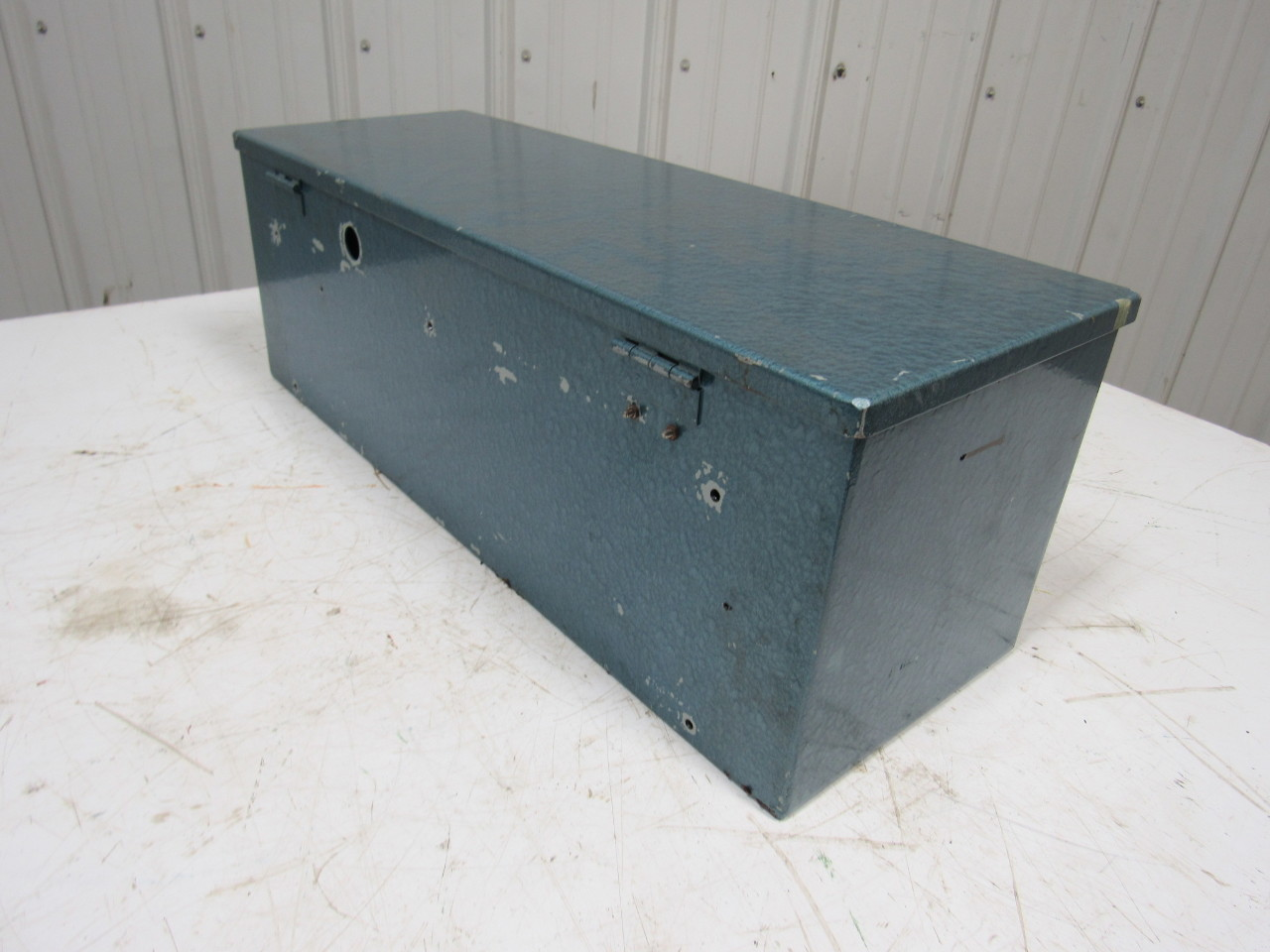 Hoffman electrical enclosure 24 x 8 x 8 w hinged lid for Electric motor enclosure types