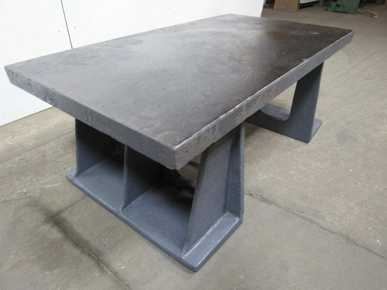 72 X40 Vintage Cast Iron Welding Layout Assembly Work Table Bench Ebay