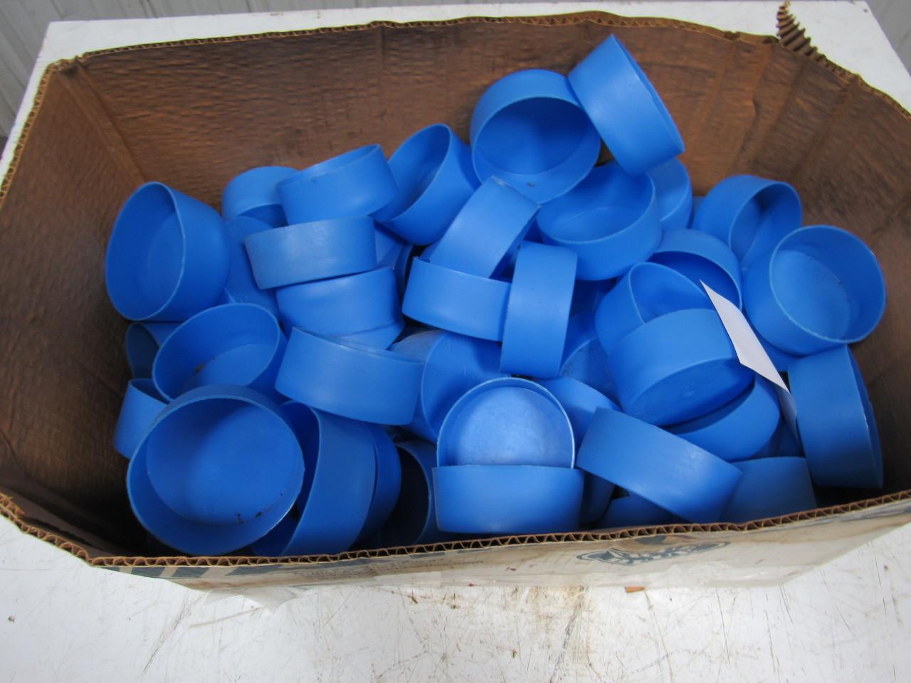 Alliance essentra quot push fit closed end pipe cap blue