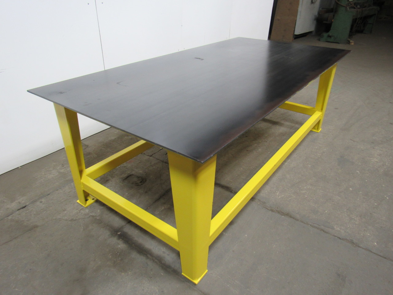 Steel Welding Work Bench Assembly Layout Table 96 X 48 3 8 Thick Top