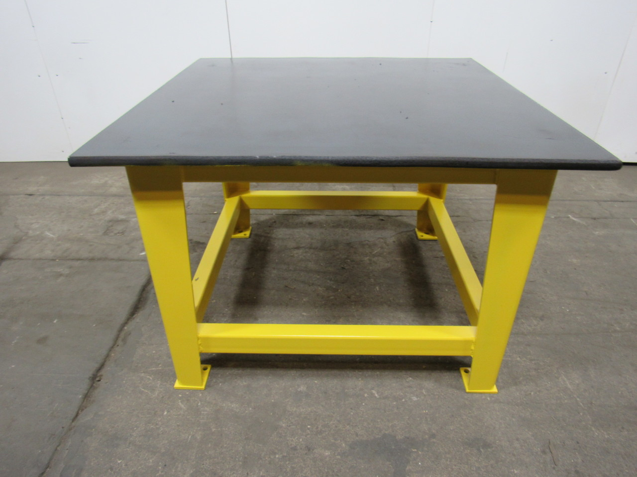 Steel Welding Work Bench Assembly Layout Table 48 X 48 1 Thick Top Ebay