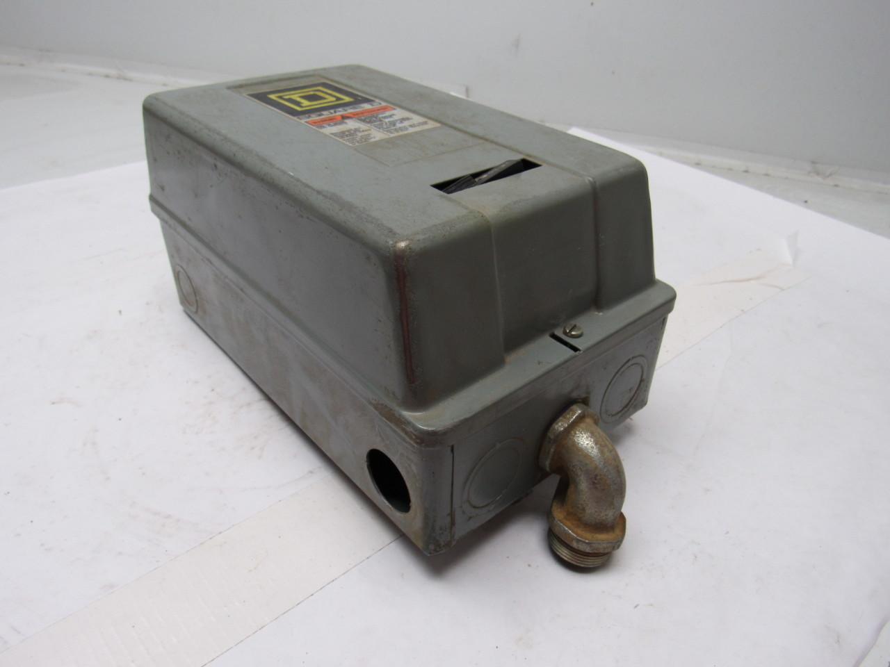 Square D 8536sbg2 Motor Starter 120v Nema Size 1 W 30072