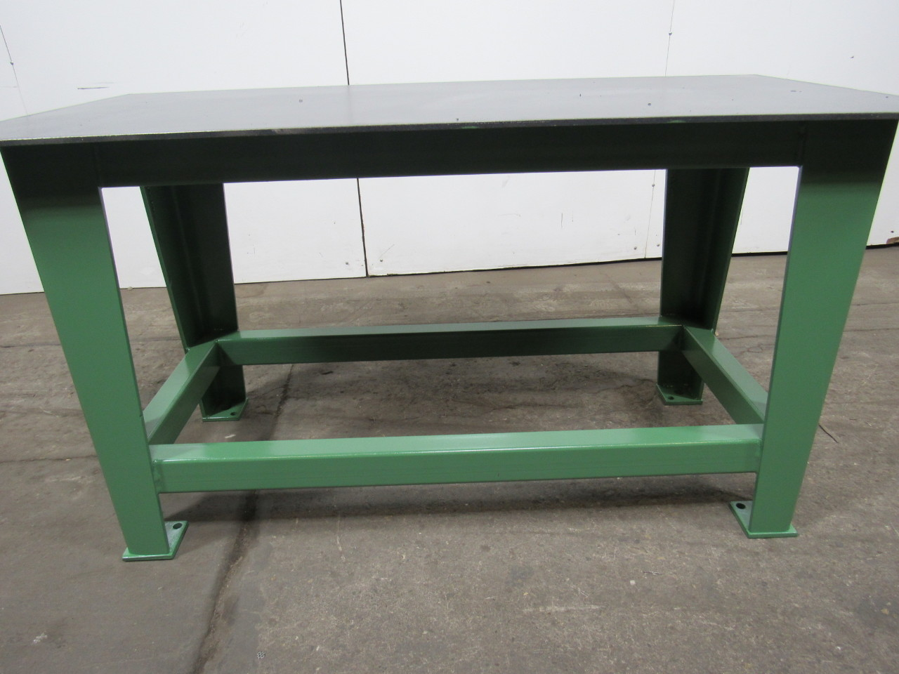 Steel Welding Work Bench Assembly Layout Table 60 X 30 3 8 Thick Top Ebay