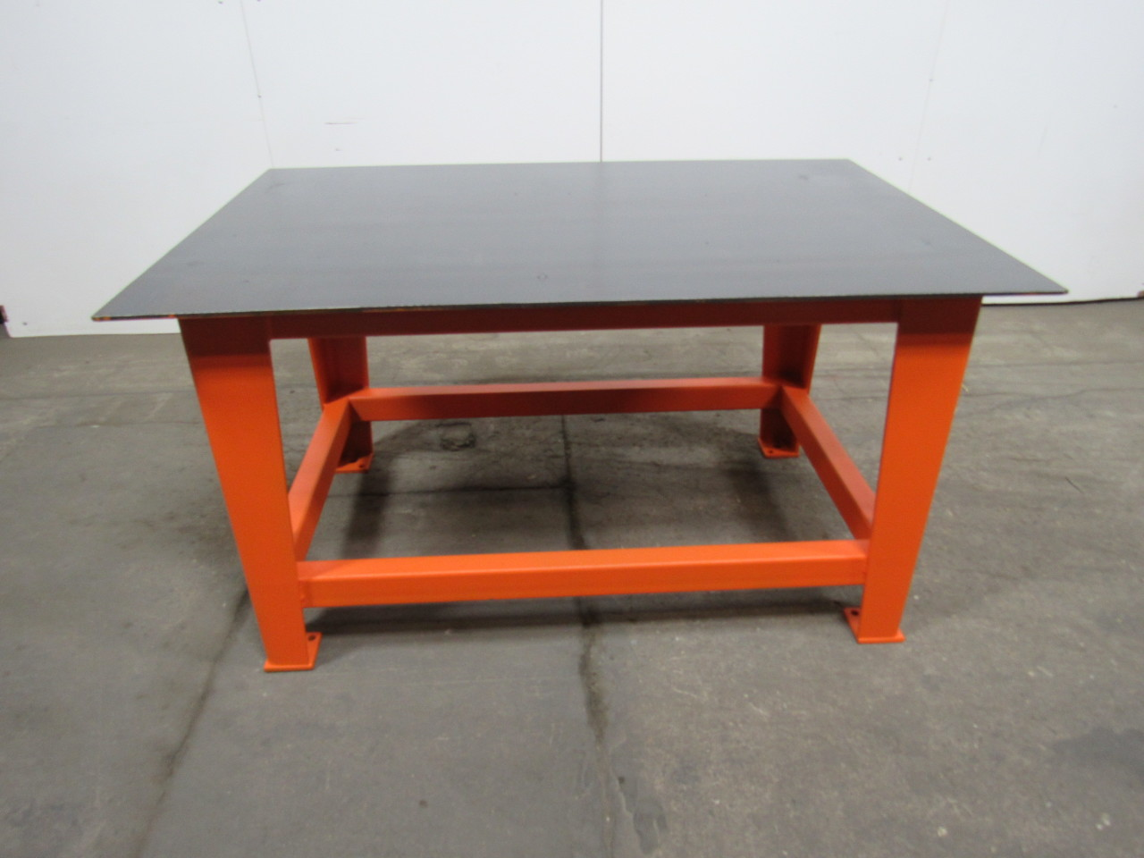 Steel Welding Work Bench Assembly Layout Table 60 X40 3 8 Thick Top Ebay