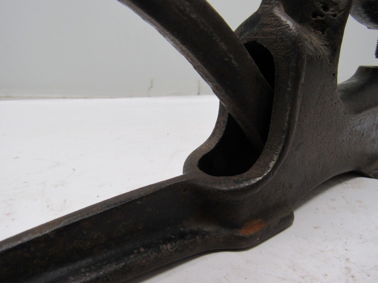Rimco vintage cast iron rivet press