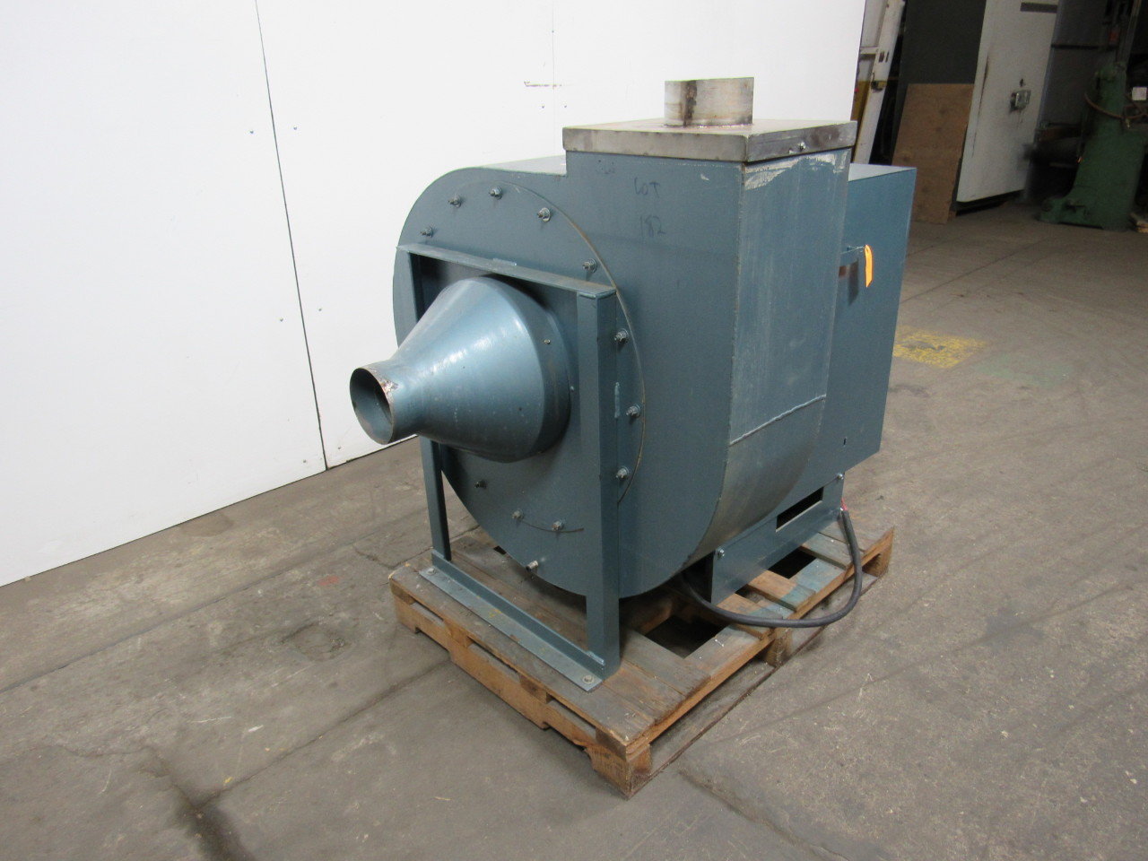 Radial High Pressure Blower : Dayton c a high pressure radial blade fan blower w