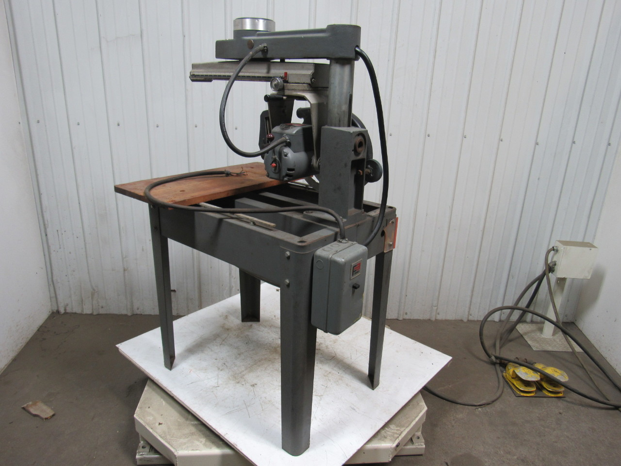 Rockwell Delta 33 694 10 Plus Radial Arm Saw 12 W 12 Stroke 2hp W Stand Ebay