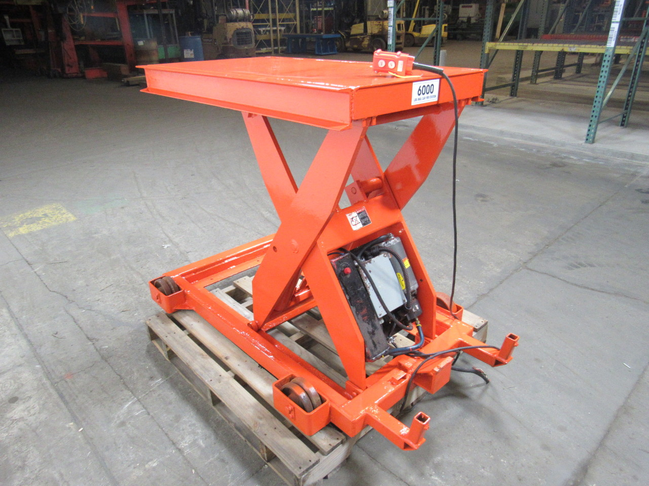 Presto Lift Tables : Presto xl scissor lift table lb cap hydraulic