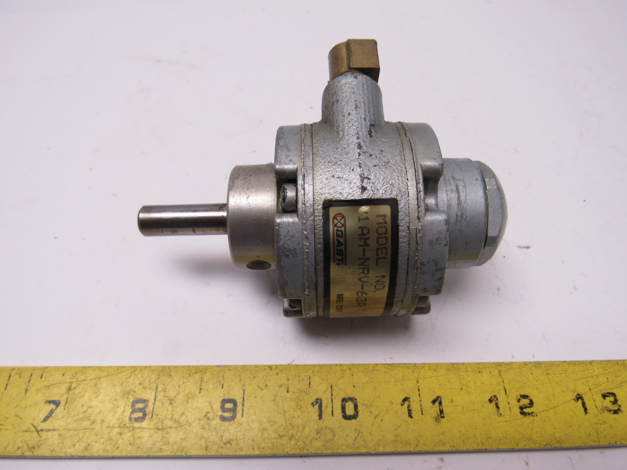 Gast 1am nrv 63a reversible air motor 8 vanes 10 000 rpm for 10000 rpm ac motor